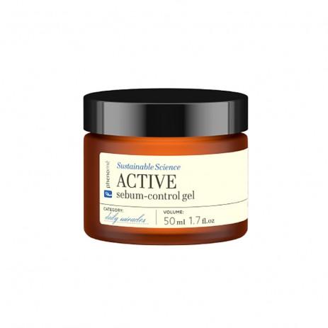 Riebalavimąsi kontroliuojantis veido gelis PHENOMÉ Active, 50 ml