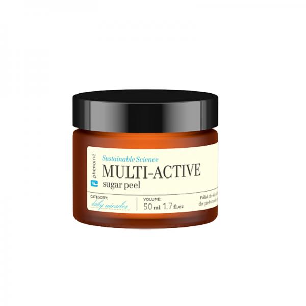 Veido šveitiklis su cukrumi PHENOMÉ Multi-active, 50 ml