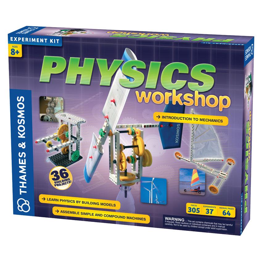 Edukacinis rinkinys THAMES & KOSMOS Fizikos dirbtuvės vaikams nuo 8 m. (625412)