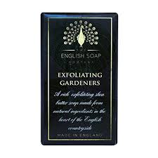 Muilas THE ENGLISH SOAP COMPANY Pure Indulgence Exfoliating Gardeners, 200 g