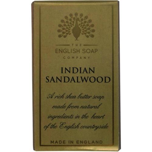Muilas THE ENGLISH SOAP COMPANY Pure Indulgence Indian Sandalwood, 200 g