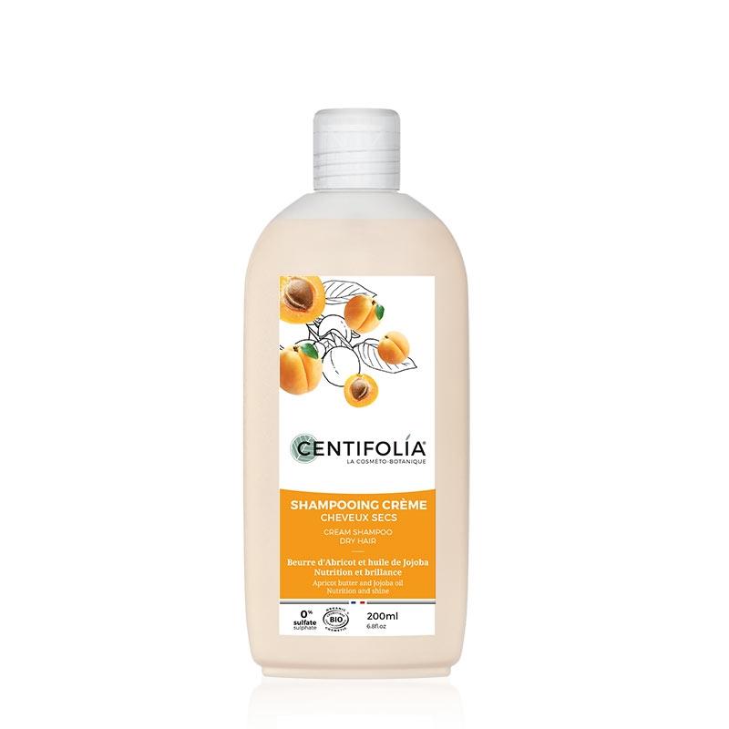 Kreminis šampūnas CENTIFOLÍA su abrikosų sviestu ir jojoba aliejumi, 500 ml