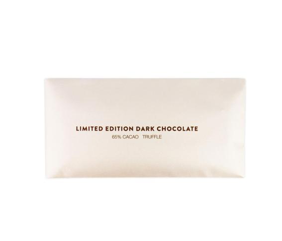 Juodasis šokoladas BUSINESS su trumais, 80g