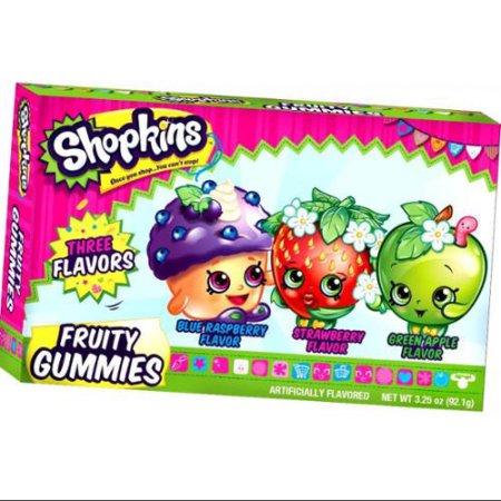 Vaisių saldainiai SHOPKINS, 85g