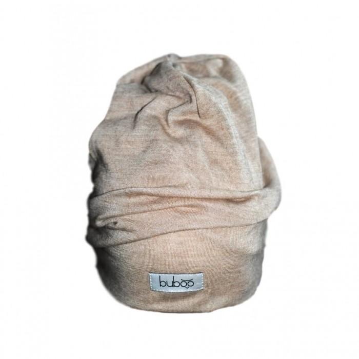 Dviguba vaikiška kepurė BUBOO Screw2, šviesiai ruda (41-45 cm)