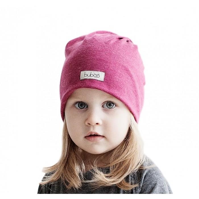 Dviguba vaikiška kepurė BUBOO Screw2, rožinė (49-55 cm)