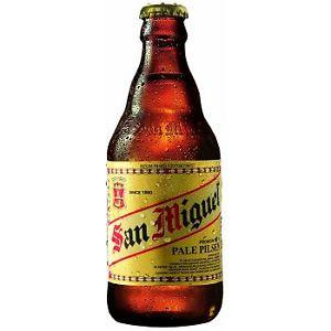 Alus San Miguel Pale Pilsen, butelis 0,33ml