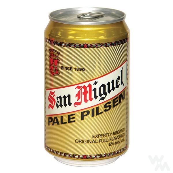 Alus San Miguel Pale Pilsen, skardinė 0,33ml