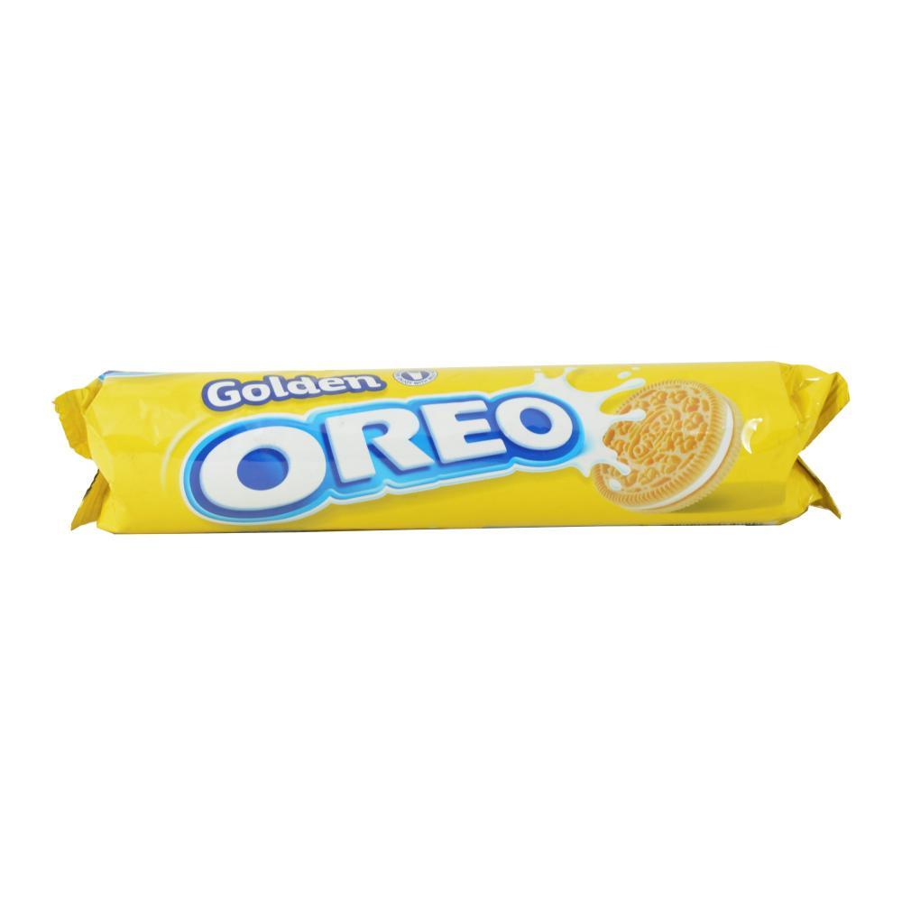 Sausainiai OREO Golden su vanilės skonio įdaru,154g