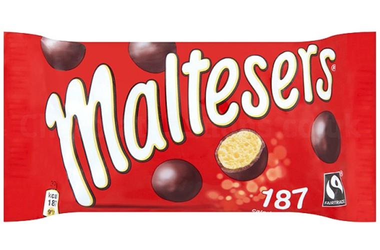 Šokoladiniai MALTESERS burbuliukai, 37g