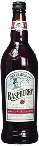 Nealkoholinis imbierinis alus aviečių skonio John Crabbies Scottish Raspberry 0,7l