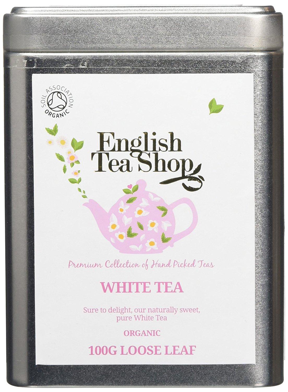Ekologiška arbata ENGLISH TEA SHOP White tea, 100g