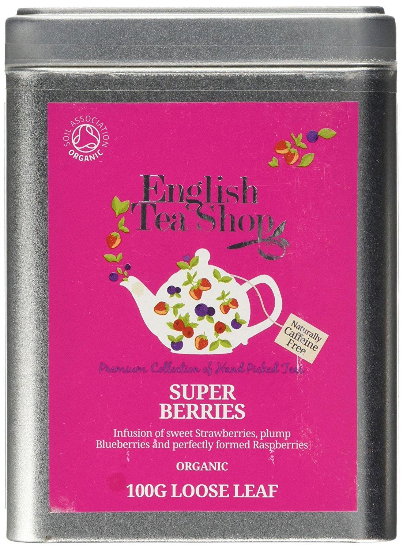 Ekologiška arbata ENGLISH TEA SHOP Superberries, 100g