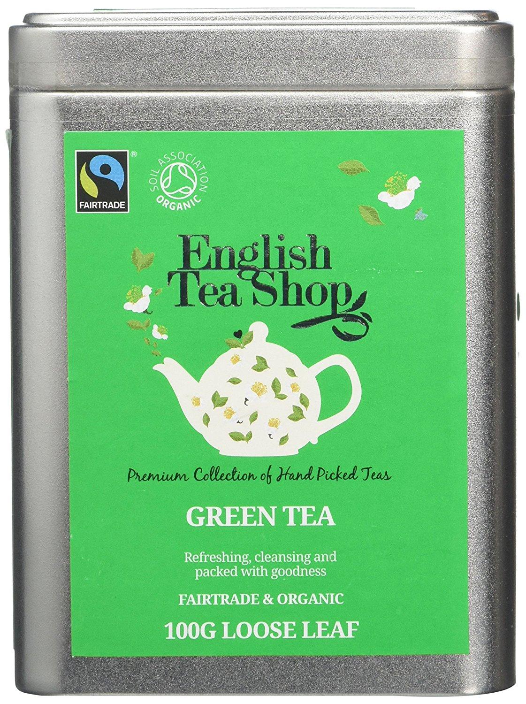 Ekologiška arbata ENGLISH TEA SHOP Green tea, 100g