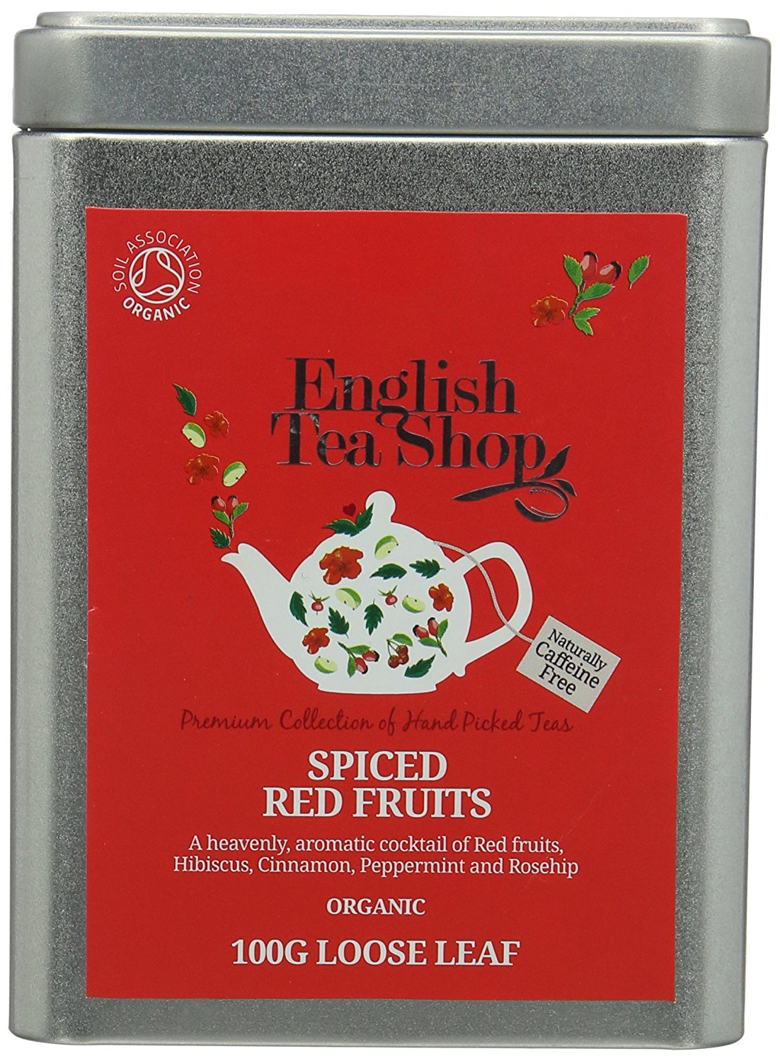 Ekologiška arbata ENGLISH TEA SHOP Spiced red fruit, 100g