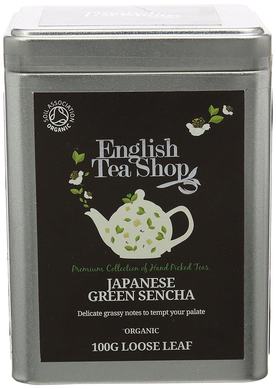 Ekologiška arbata ENGLISH TEA SHOP Green Sencha, 100g