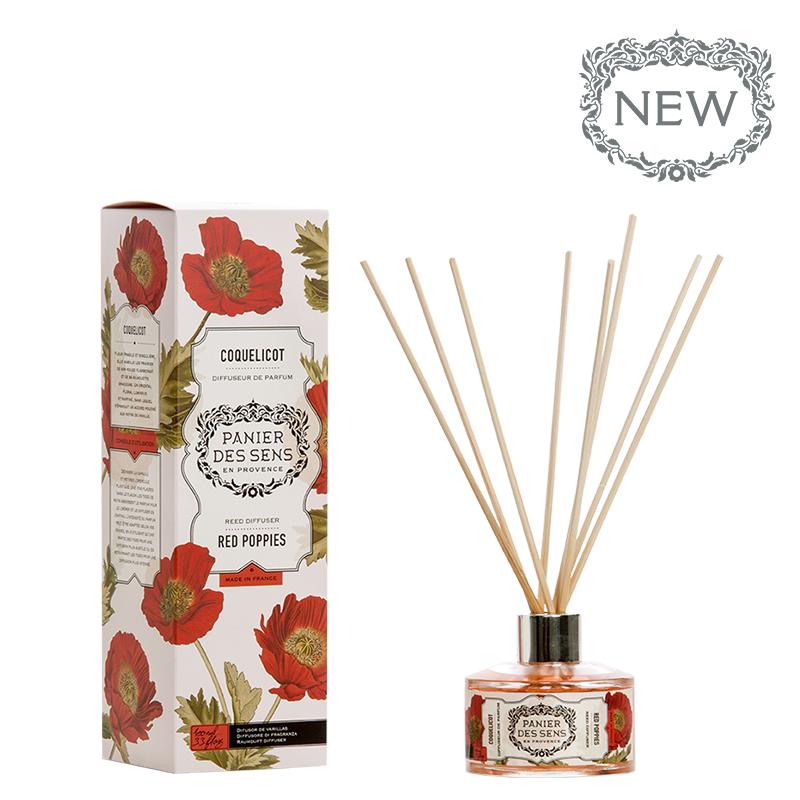 Namų kvapas PANIER DES SENS Red Poppies, 100 ml