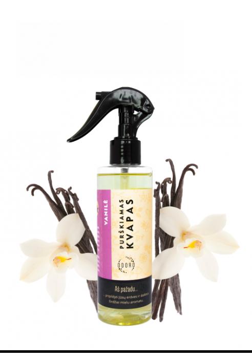 """Purškiamas kvapas ODORO """"Vanilė"""", 200 ml"""