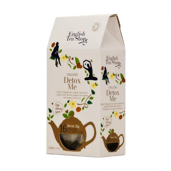 Ekologiška arbata ENGLISH TEA SHOP Detox, 16 maišelių