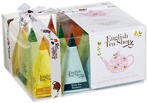 Ekologiškos arbatos rinkinys ENGLISH TEA SHOP White collection, 12 maišelių
