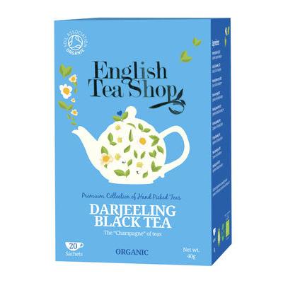 Ekologiška arbata ENGLISH TEA SHOP Darjeeling, 20 maišelių