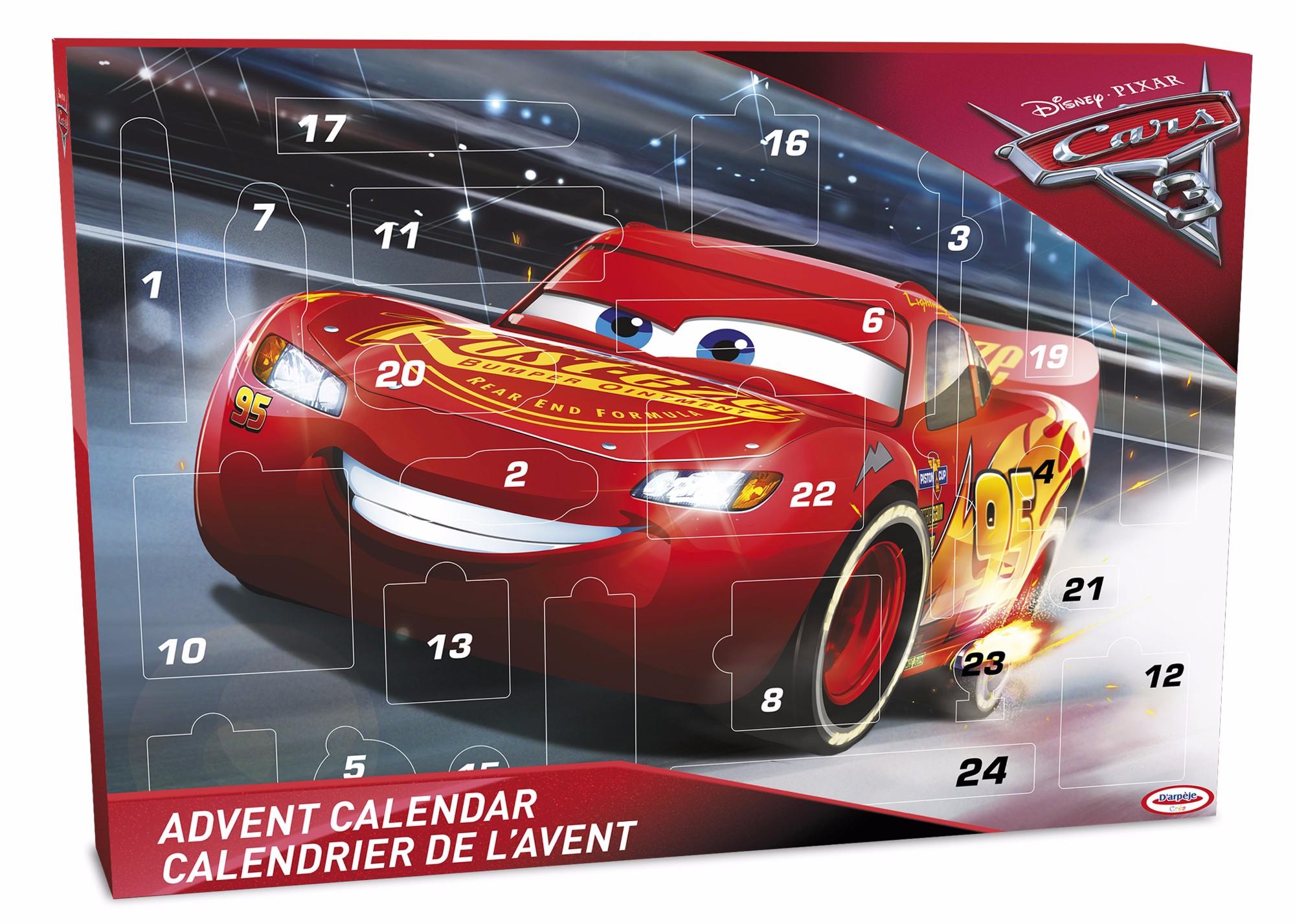 Advento kalendorius-kūrybinis rinkinys Cars 4-11 metų vaikams (299042)