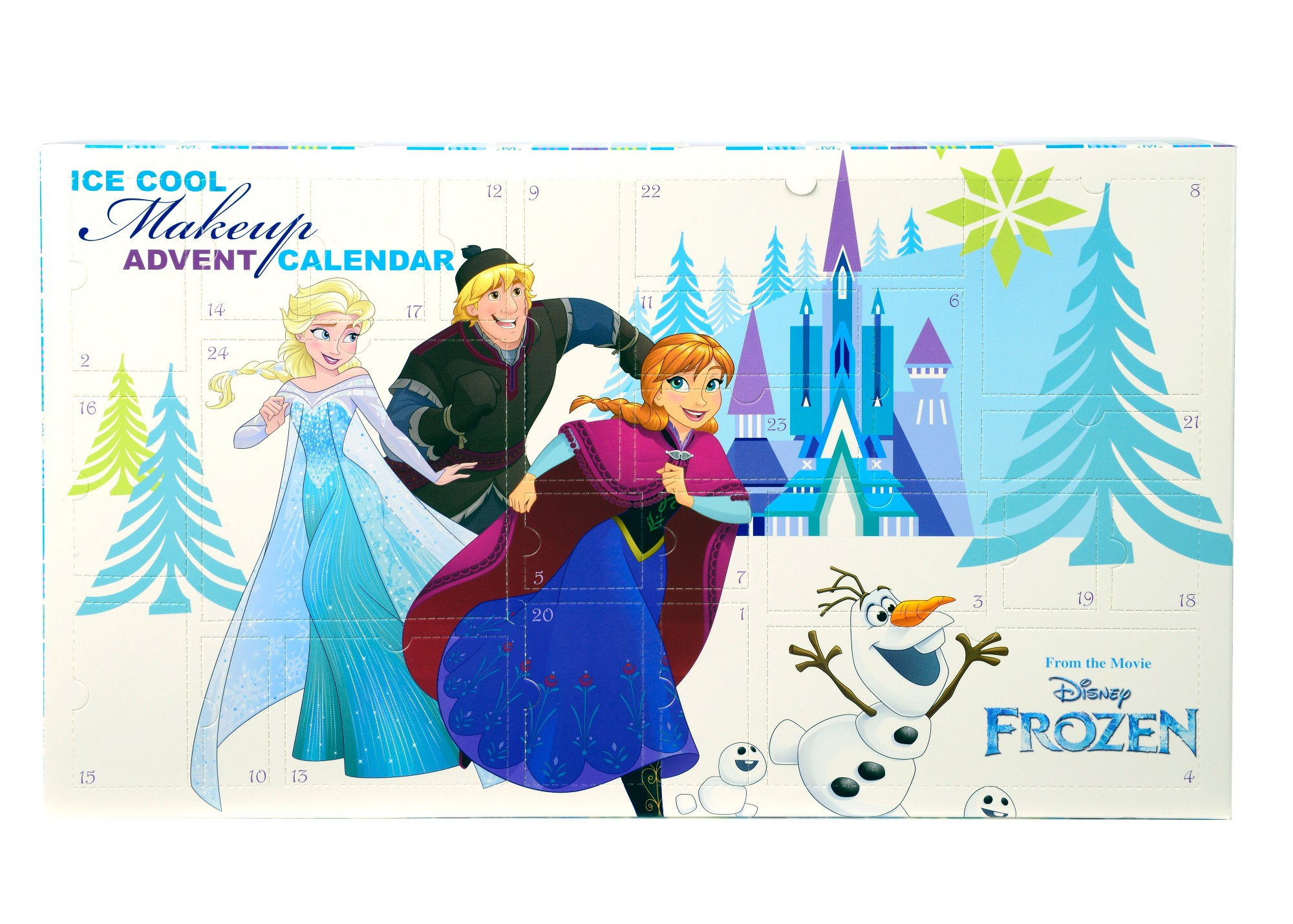 Advento kalendorius-grožio rinkinys Frozen 4-11 metų vaikams (298340)
