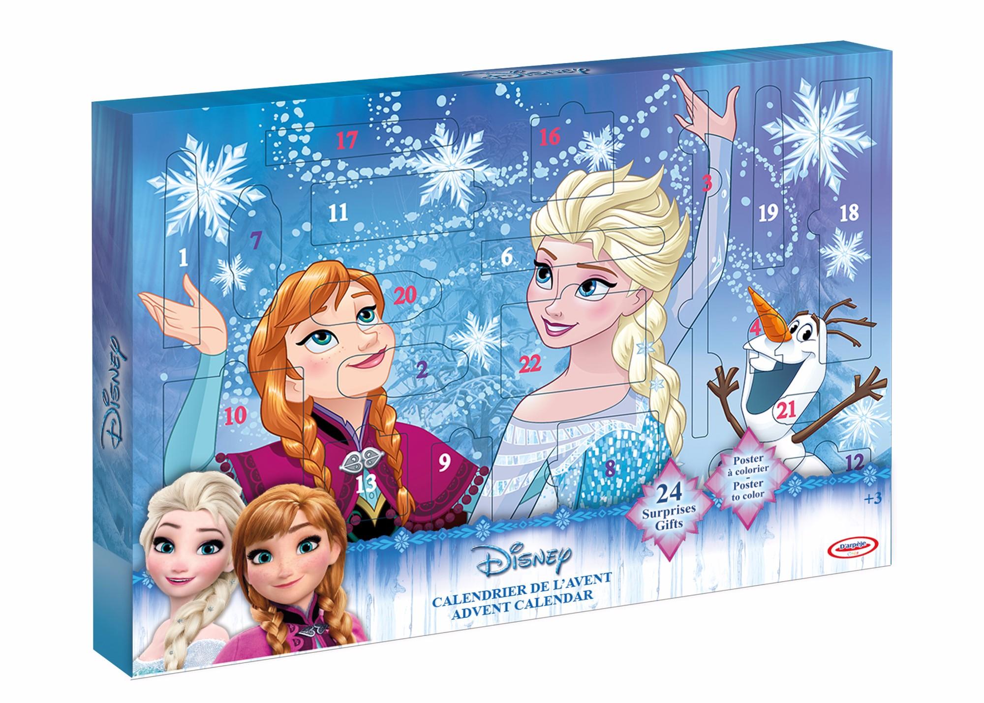 Advento kalendorius-kūrybinis rinkinys Frozen 4-11 metų vaikams (299043)