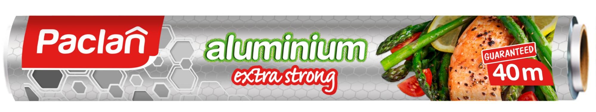 PACLAN Aliuminio folija (rulonais) 40m