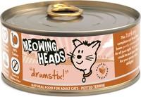 Konservai katėms MEOWING HEADS Wet Drumstix su kalakutiena, 100 g