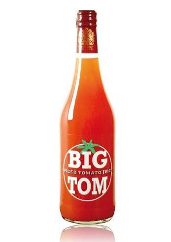 Aštrios pomidorų sultys BIG TOM, 250ml
