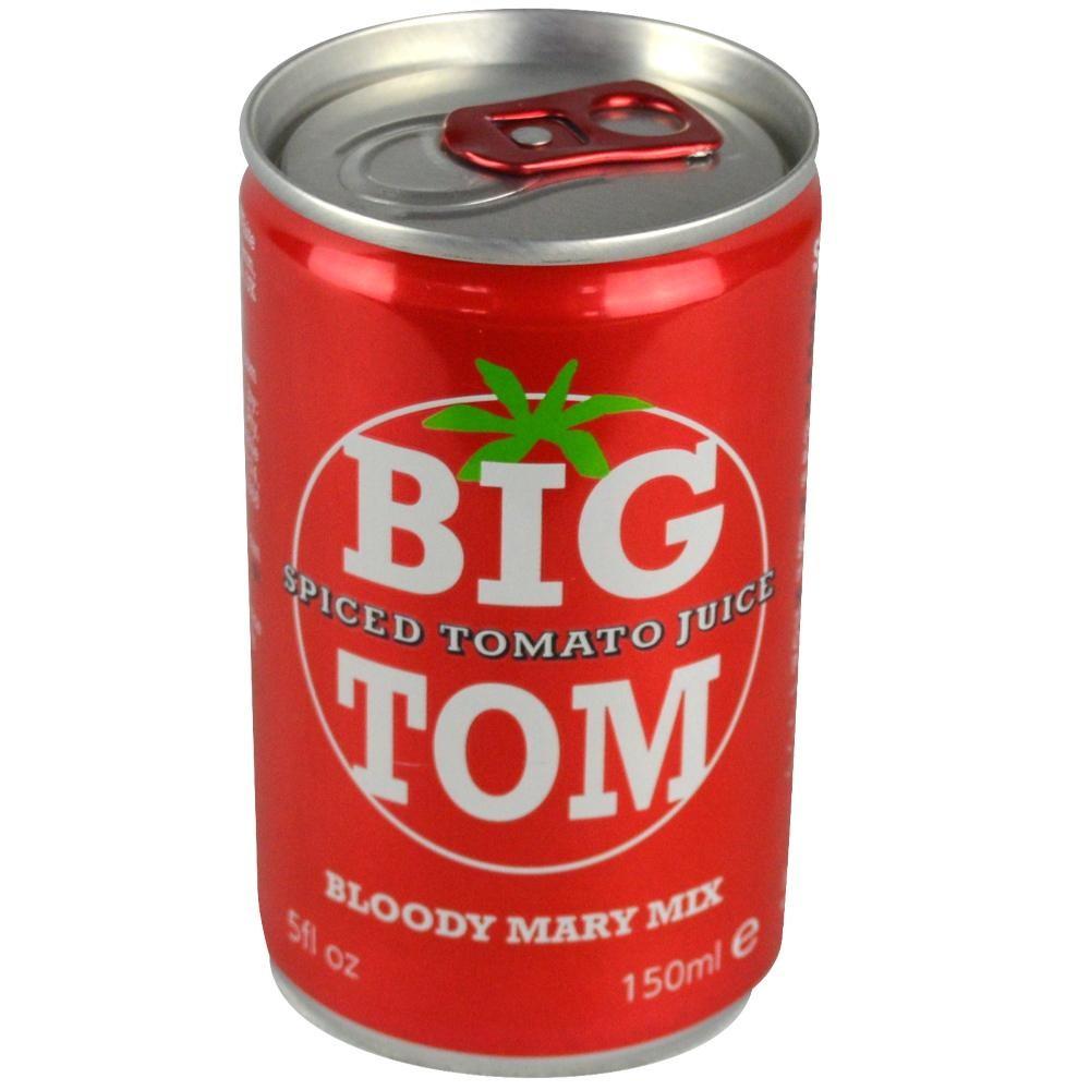 Aštrios pomidorų sultys BIG TOM, 150ml