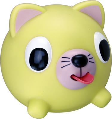 Emocinis žaisliukas JABBER BALL Geltona katytė vaikams nuo 18 mėn.