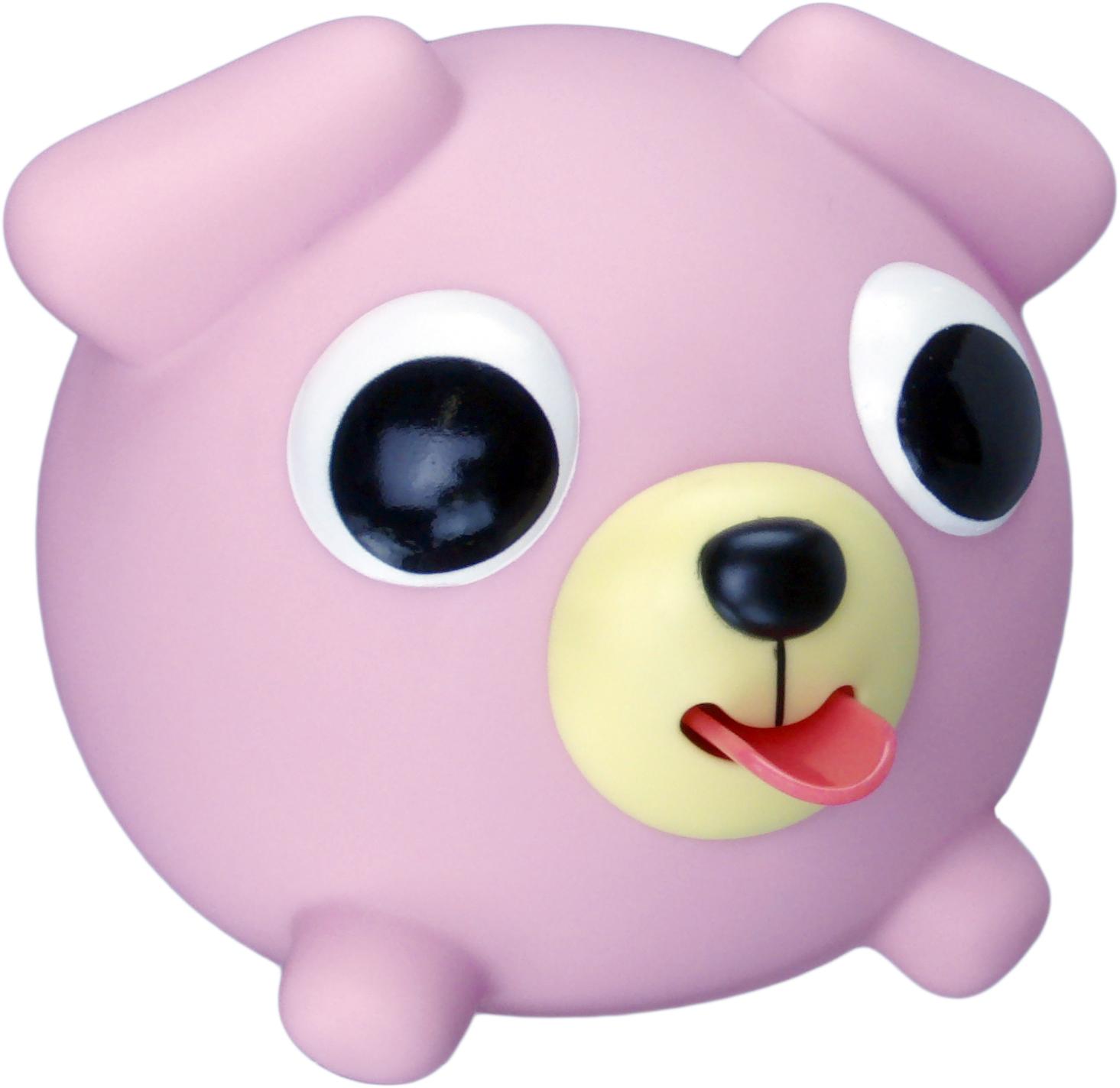 Emocinis žaisliukas JABBER BALL Rožinis šuniukas vaikams nuo 18 mėn.