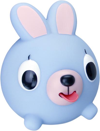 Emocinis žaisliukas JABBER BALL Melsvas kiškutis vaikams nuo 18 mėn.