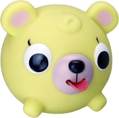 Emocinis žaisliukas JABBER BALL Geltonas meškutis vaikams nuo 18 mėn.