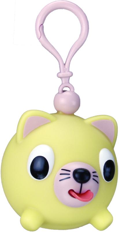 Emocinis žaisliukas-pakabukas JABBER BALL JR. Geltona katytė vaikams nuo 18 mėn.