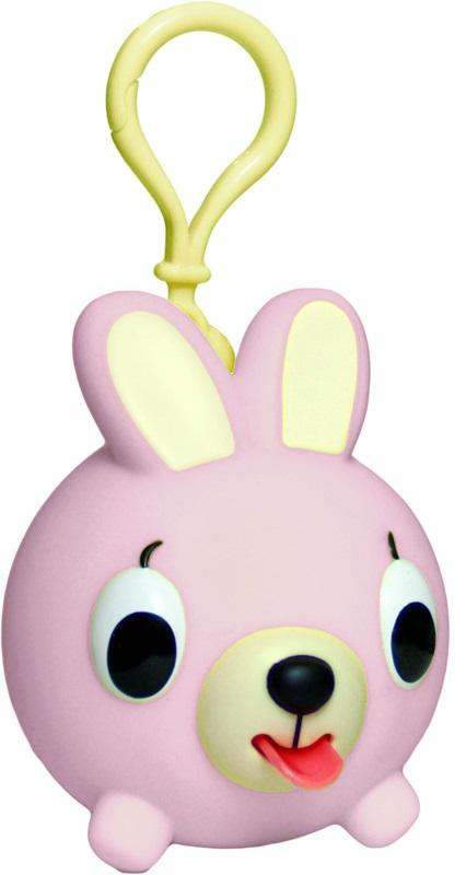Emocinis žaisliukas-pakabukas JABBER BALL JR. Rožinis kiškutis vaikams nuo 18 mėn.