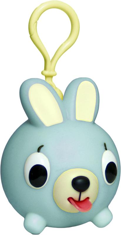 Emocinis žaisliukas-pakabukas JABBER BALL JR. Žalsvas kiškutis vaikams nuo 18 mėn.
