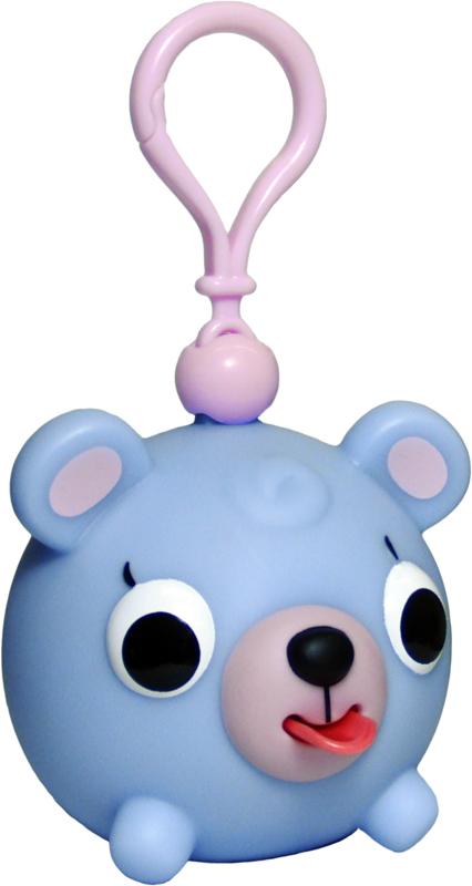 Emocinis žaisliukas-pakabukas JABBER BALL JR. Melsvas meškutis vaikams nuo 18 mėn.