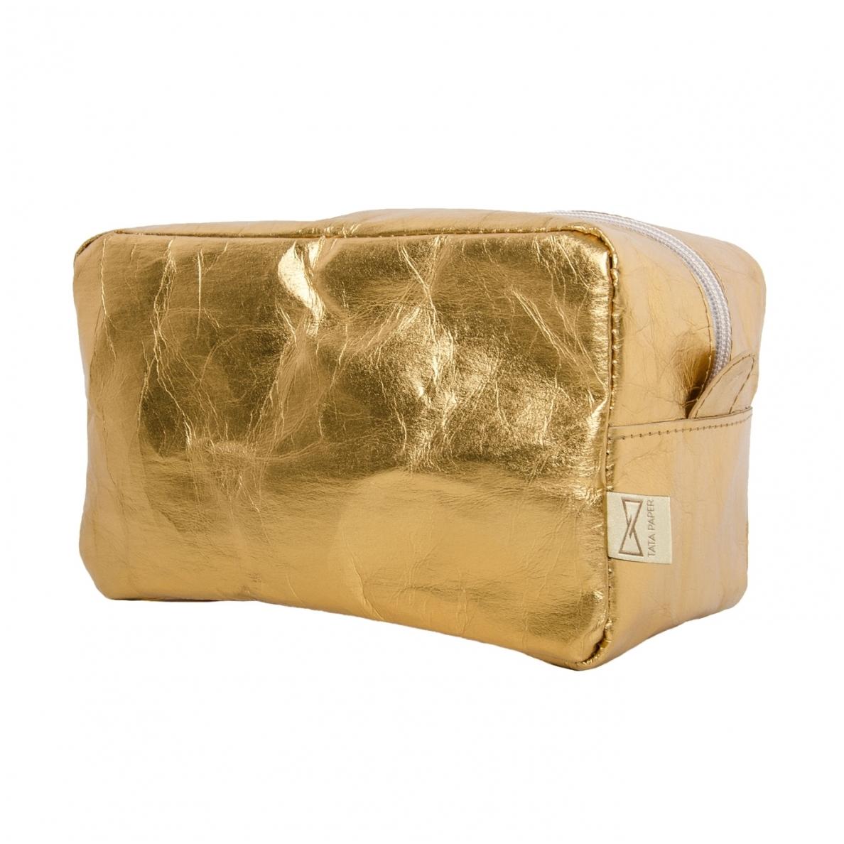 Kosmetinė TATA PAPER auksinės spalvos didelė