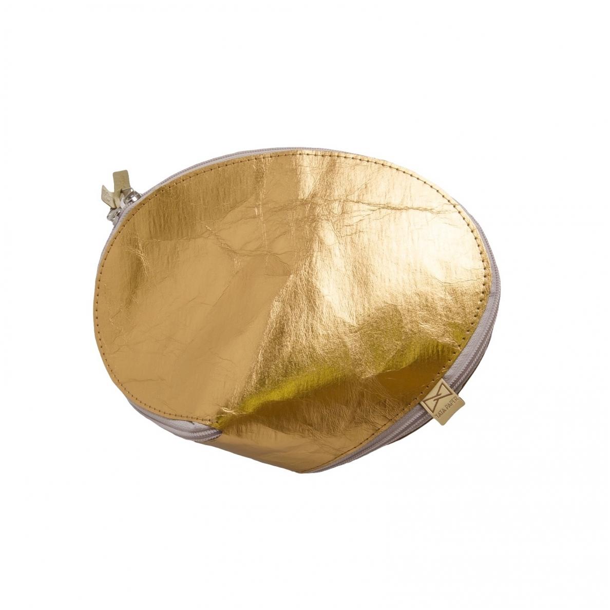 Kosmetinė TATA PAPER auksinės spalvos išklotinė