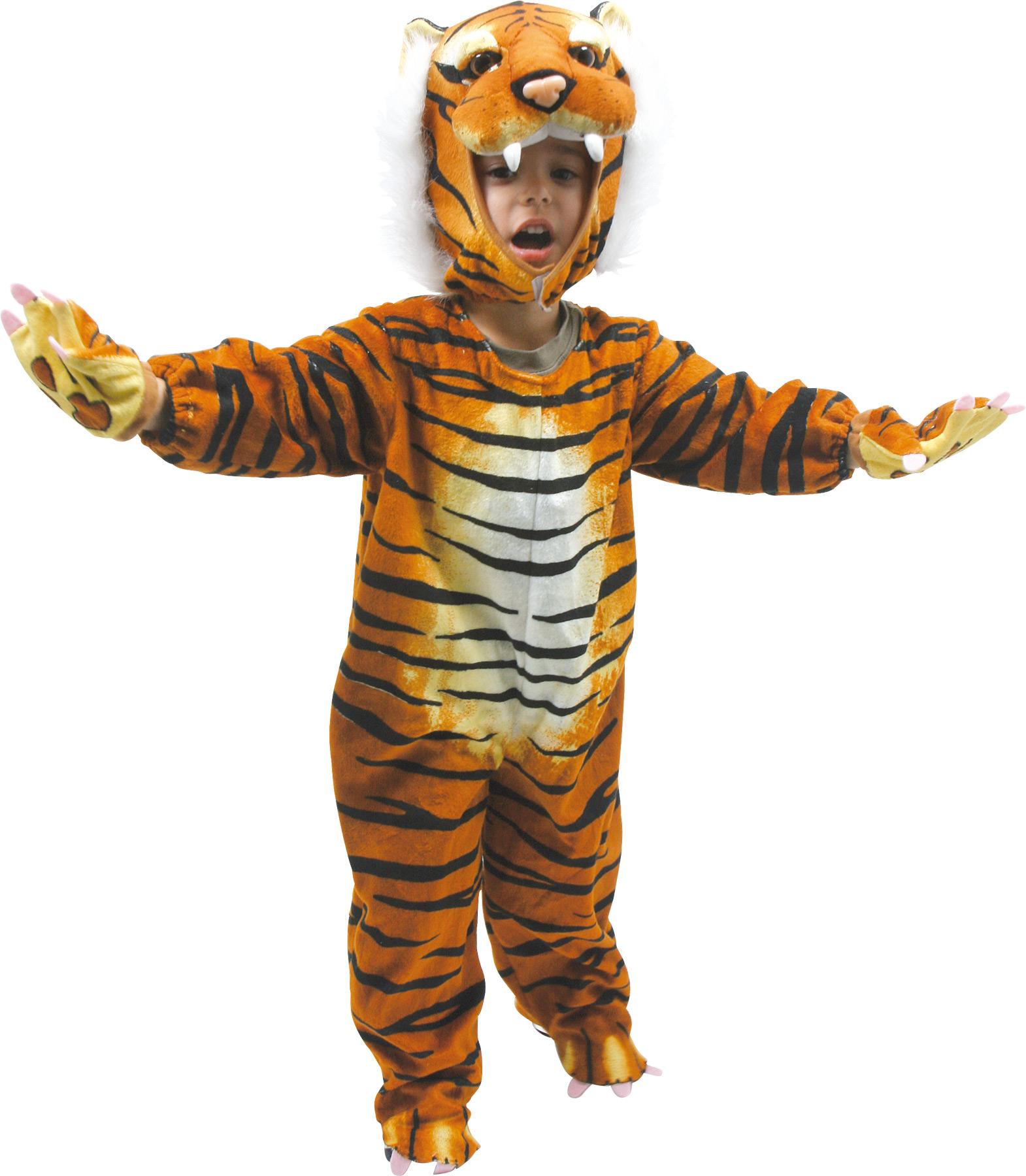 Karnavalinis kostiumas SMALL FOOT Tigras vaikams nuo 2 metų (5630)