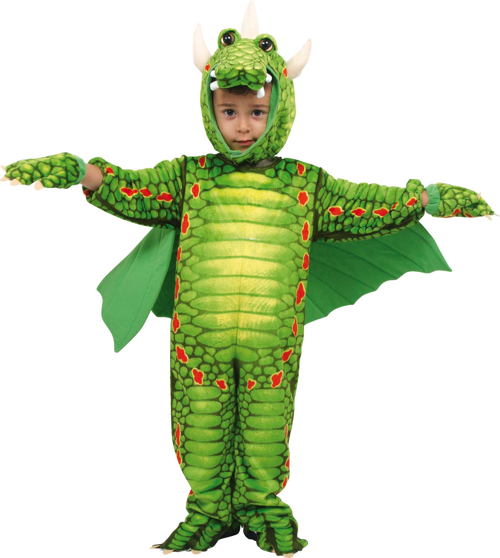 Karnavalinis kostiumas SMALL FOOT Drakonas vaikams nuo 2 metų (5636)