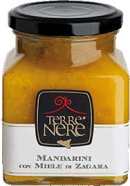 Mandarinų marmeladas su apelsinų žiedų medumi TERRE NERE, 240g