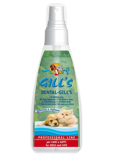 Skystis dantų priežiūrai šunims ir katėms GILL'S DENTAL, 100 ml