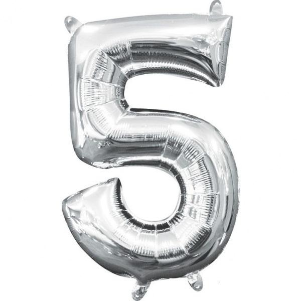 Folinis balionas-skaičiukas 5 AMSCAN, A05