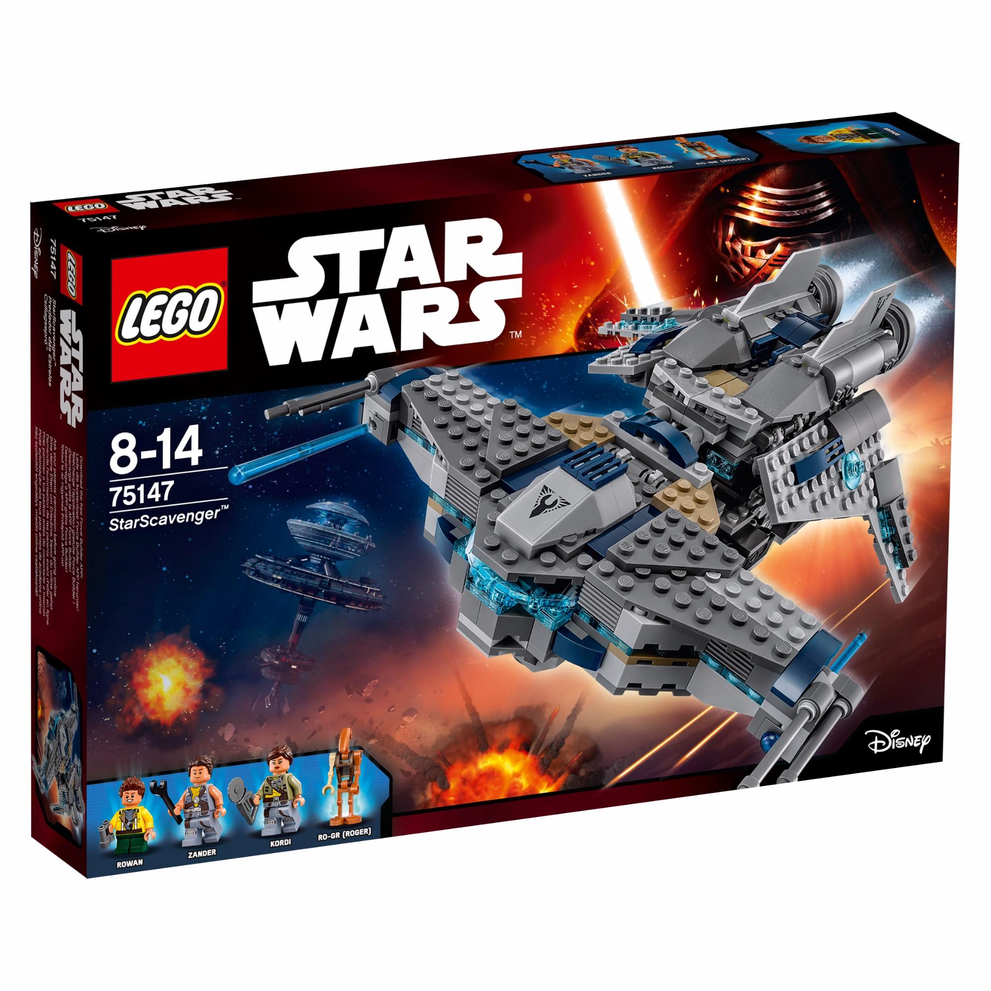 Konstruktorius LEGO Star Wars™ StarScavenger 8-14 m. vaikams (75147)