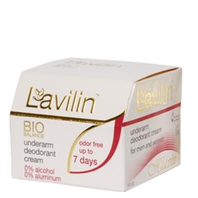 Kremas-dezodorantas pažastims LAVILIN BIO BALANCE, 10 ml