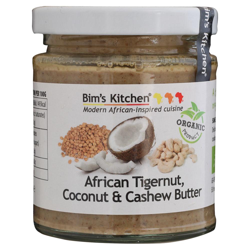BIMS KITCHEN Afrikos viksvuolės, kokoso & anakardžių sviestas, 170g